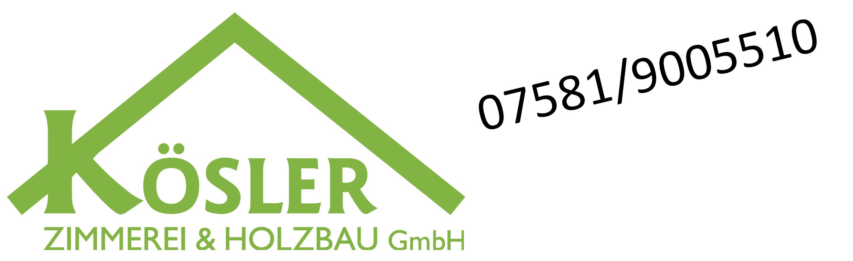 Zimmerei Kösler GmbH Logo
